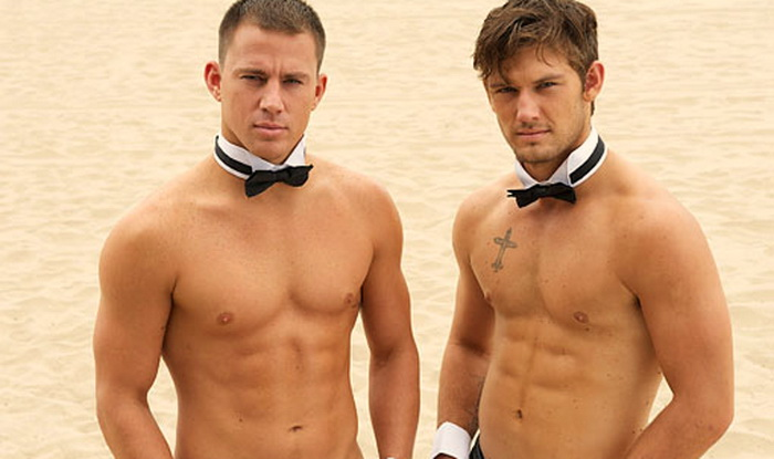 Channing Tatum and Alex Pettyfer in 'Magic Mike'