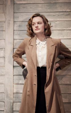 Elisabeth Moss made a blazing London stage debut in The Children's Hour