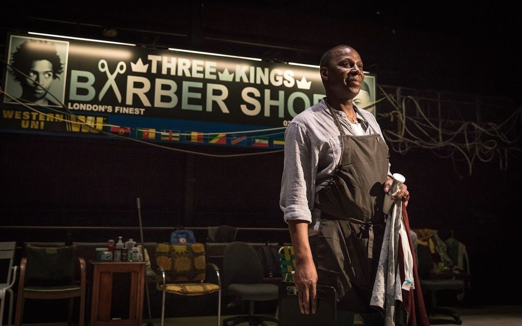 Cyril Nri in 'Barber Shop Chronicles'