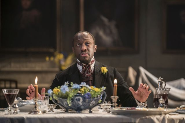 Giles Terera as Kroll in 'Rosmersholm'