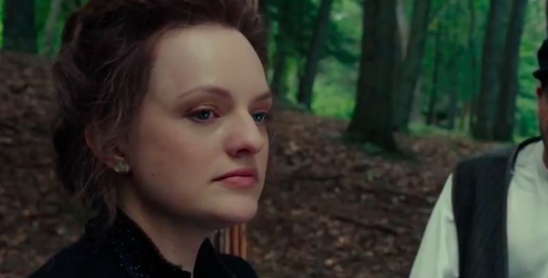 Elisabeth Moss as Masha in 'The Seagull'