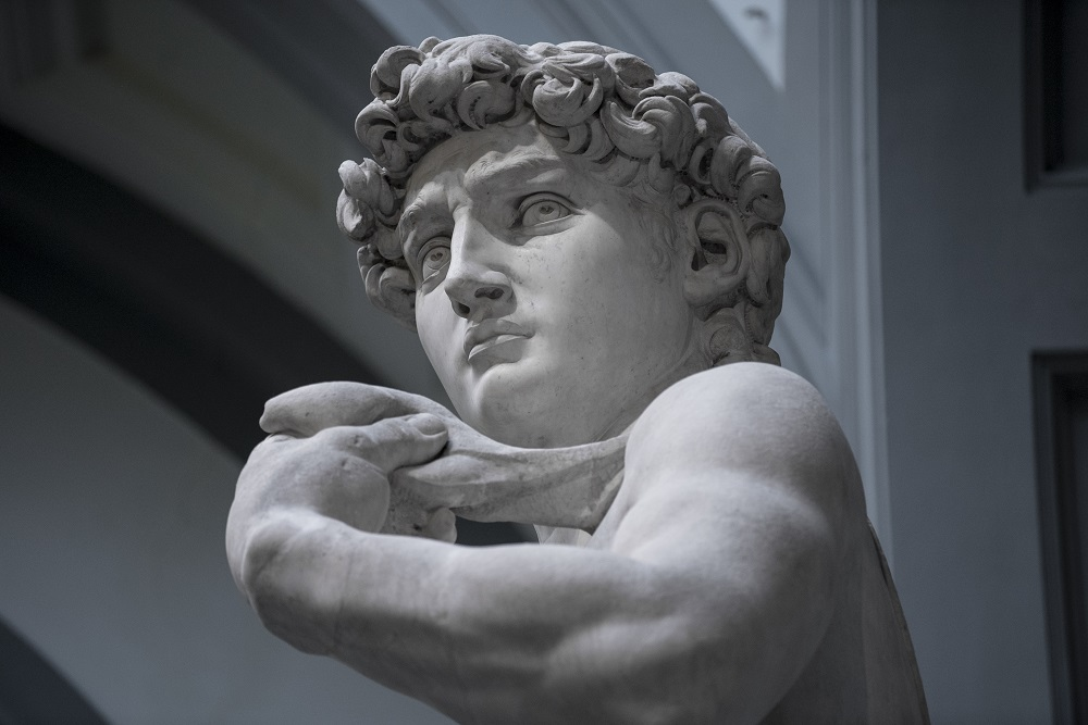 David, Michelangelo, Bickerstaff