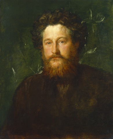 GF Watts, William Morris, 1870; © National Portrait Gallery, London