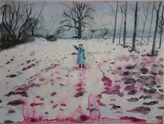 Anselm Kiefer, Ice and Blood, 1971, © Anselm Kiefer