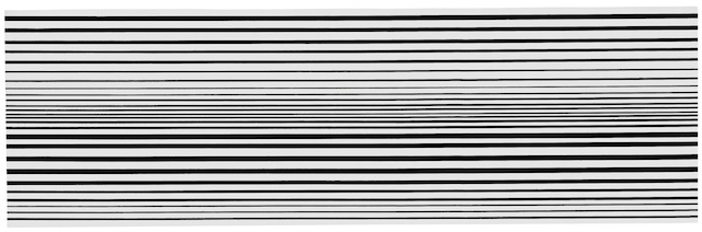 Bridget Riley, Horizontal Vibration, 1961; Private collection