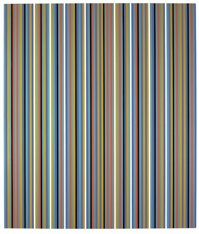 Bridget Riley, Après Midi; Private collection