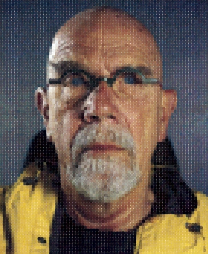 Chuck Close, Self-Portrait, 2011