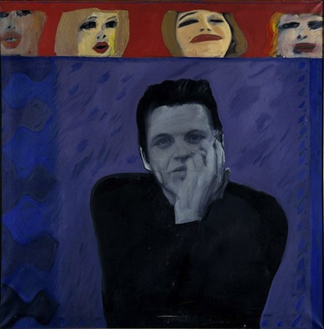 Portrait of Derek Marlowe with Unknown Women, 1962-63