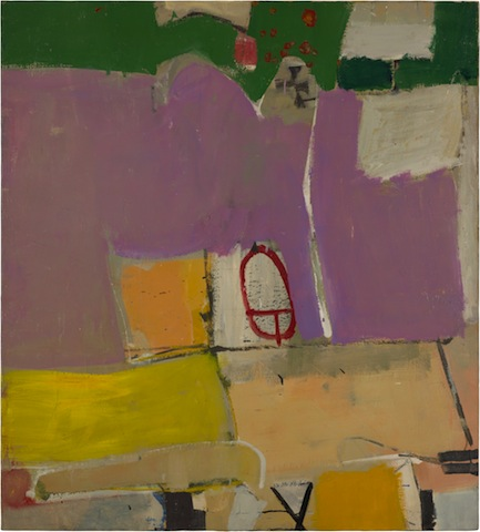 Richard Diebenkorn, Albuquerque #4; 1951; Saint Louis Art Museum.