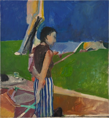 Richard Diebenkorn, Girl on a Terrace, 1956; Neuberger Museum of Art