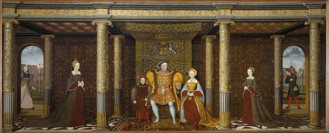 The Family of Henry VIII, anon (British School), c.1545