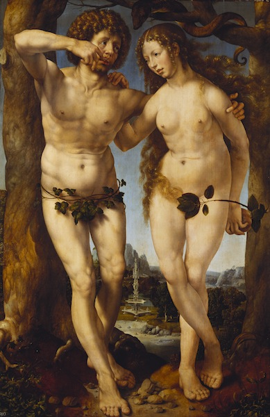 Jan Gossaert, Adam and Eve, c1520