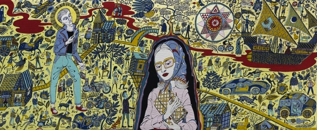 Grayson Perry, The Walthamstow Tapestry, 2009; The China Academy of Art in Hangzhou,