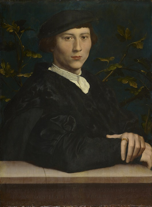 Hans Holbein the Younger, Derich Born, 1533