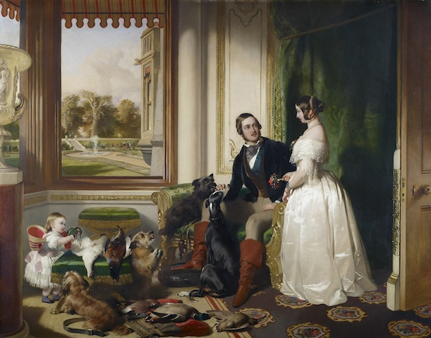 Edwin Landseer, Windsor Castle in Modern Times, 1840-43