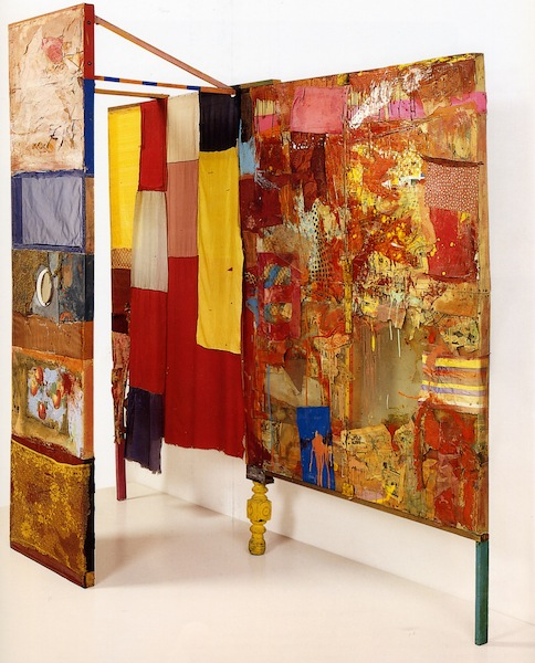 Robert Rauschenberg, stage design for Minutiae, 1954