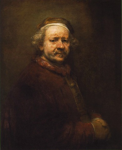 Rembrandt, Self Portrait at the Age of 63, 1669, National Gallery, London