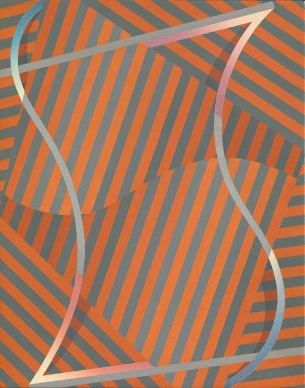 Tomma Abts, Zebe, 2010, Tate
