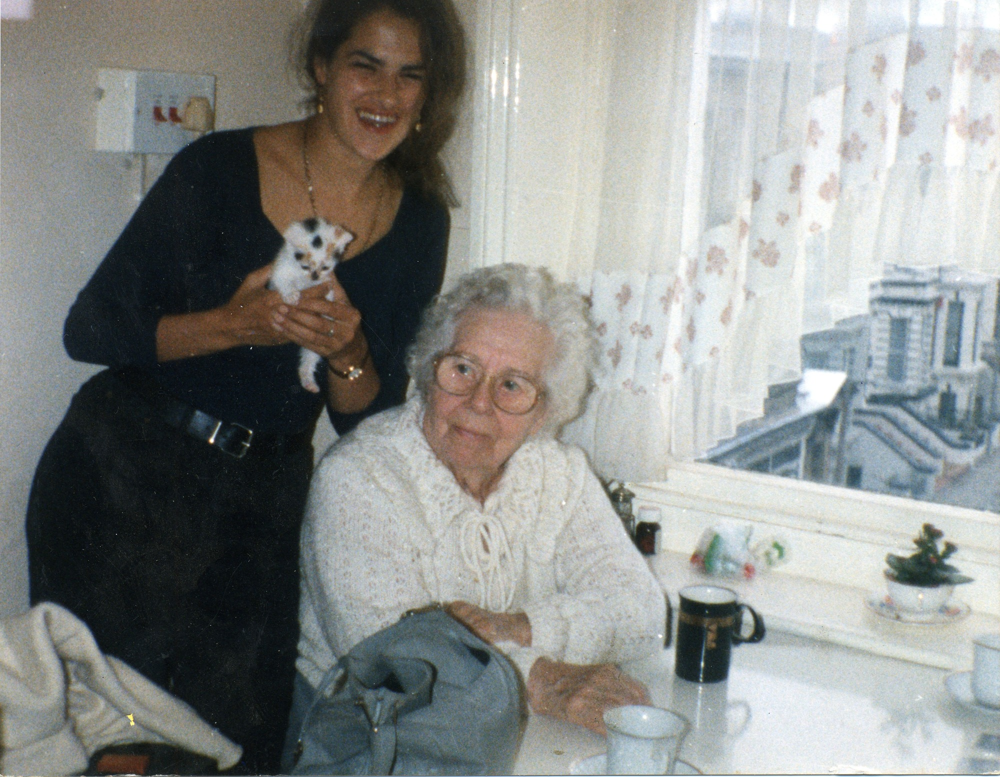Tracey Emin and Granny Hodgkins