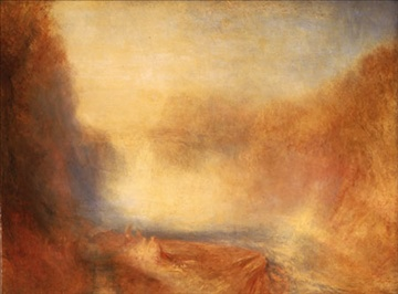 JMW Turner, The Falls of the Clyde, c1840; Lady Lever Art Gallery, Liverpool