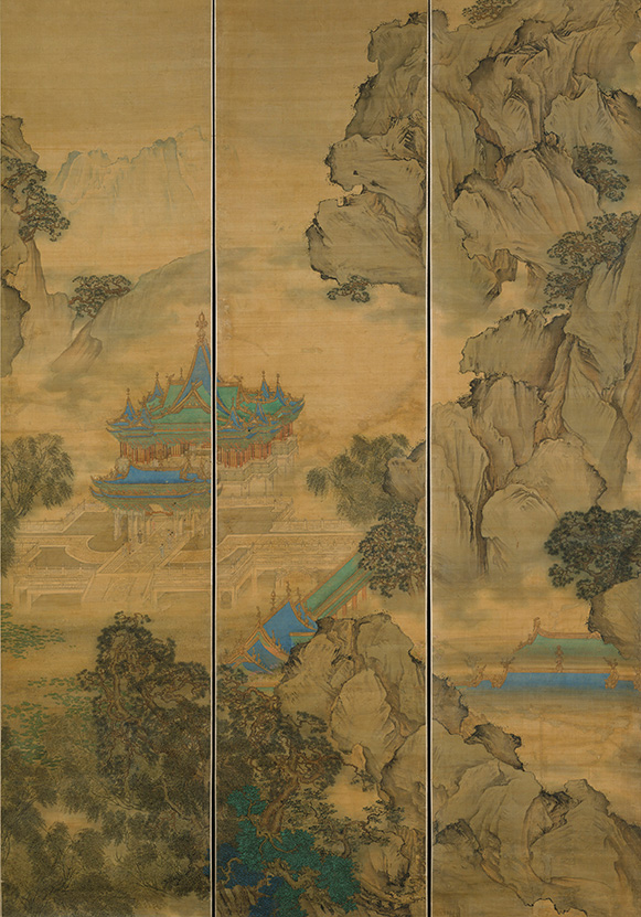 Yuan Jiang, The Palace of Nine Perfections, 1691, The Metropolitan Museum of Art