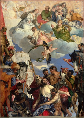 Paolo Veronese, The Martyrdom of Saint George, c.1565; Chiesa di San Giorgio in Braida, Verona