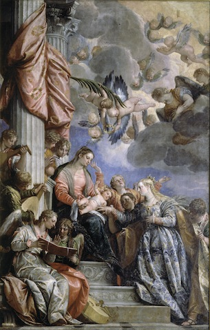 Paolo Veronese, The Mystic Marriage of Saint Catherine, c.1565-70; Gallerie dell'Accademia, Venice