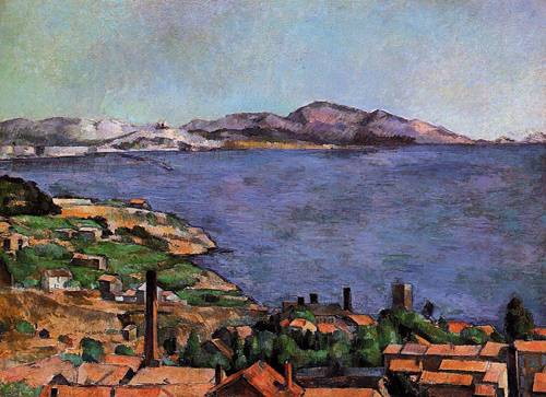 Paul Cezanne, L'Estaque, 1883, Museum of Modern Art, New York
