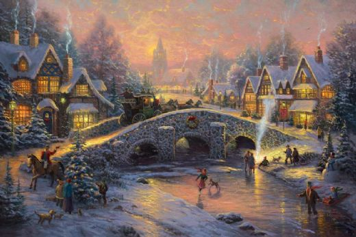Thomas Kinkade, Spirit of Christmas