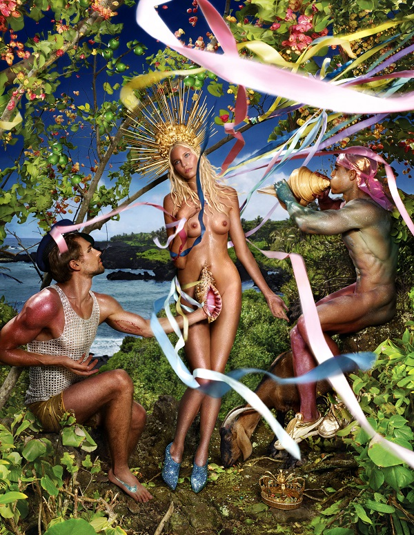 David LaChapelle, Rebirth of Venus, 2009 © David LaChapelle