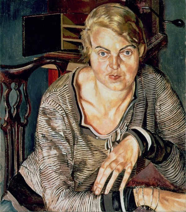Stanley Spencer, Patricia Preece, 1933, Oil paint on canvas 839 x 736 mm Southampton City Art Gallery, Hampshire © The Estate of Stanley Spencer/Bridgeman Images