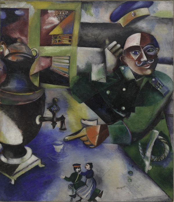 Marc Chagall, The Soldier Drinks, 1911-12
