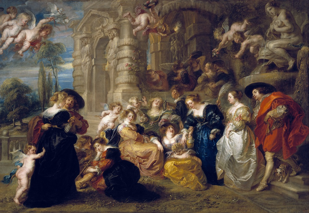 Peter Paul Rubens, The Garden of Love, c.1633, Oil on canvas, Museo Nacional del Prado, Madrid © Madrid, Museo Nacional Del Prado