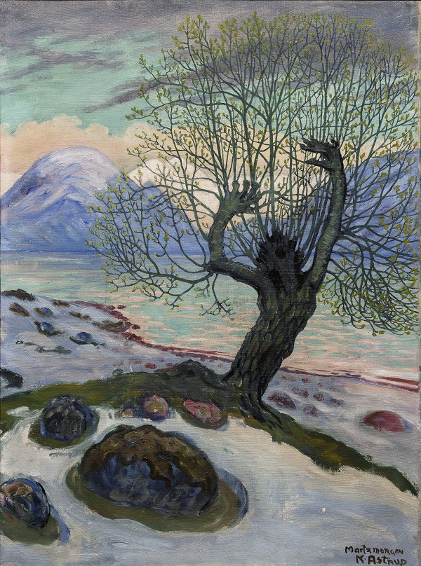 A Morning in March , c.1920, Oil on canvas, The Savings Bank Foundation DNB/The Astrup Collection/KODE Art Museums of Bergen. Photo © Dag Fosse/KODE
