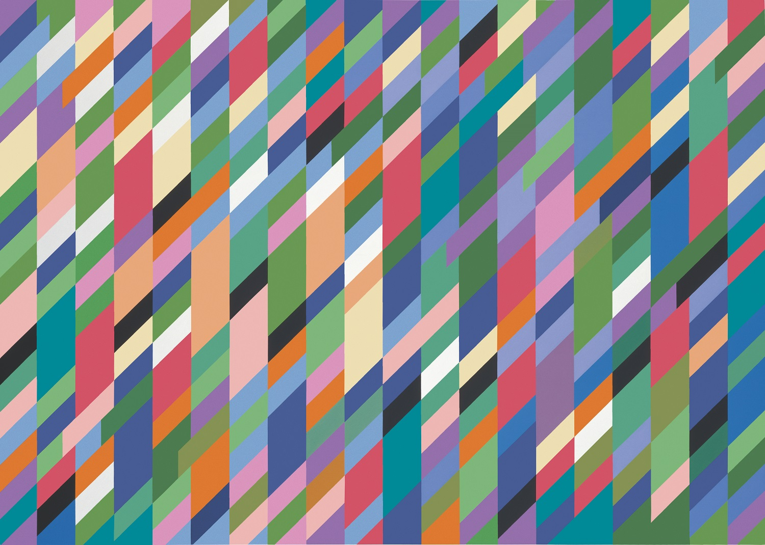 Bridget Riley High Sky, 1991 © Bridget Riley 2019. All rights reserved.