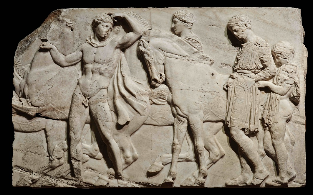North frieze cavalcade