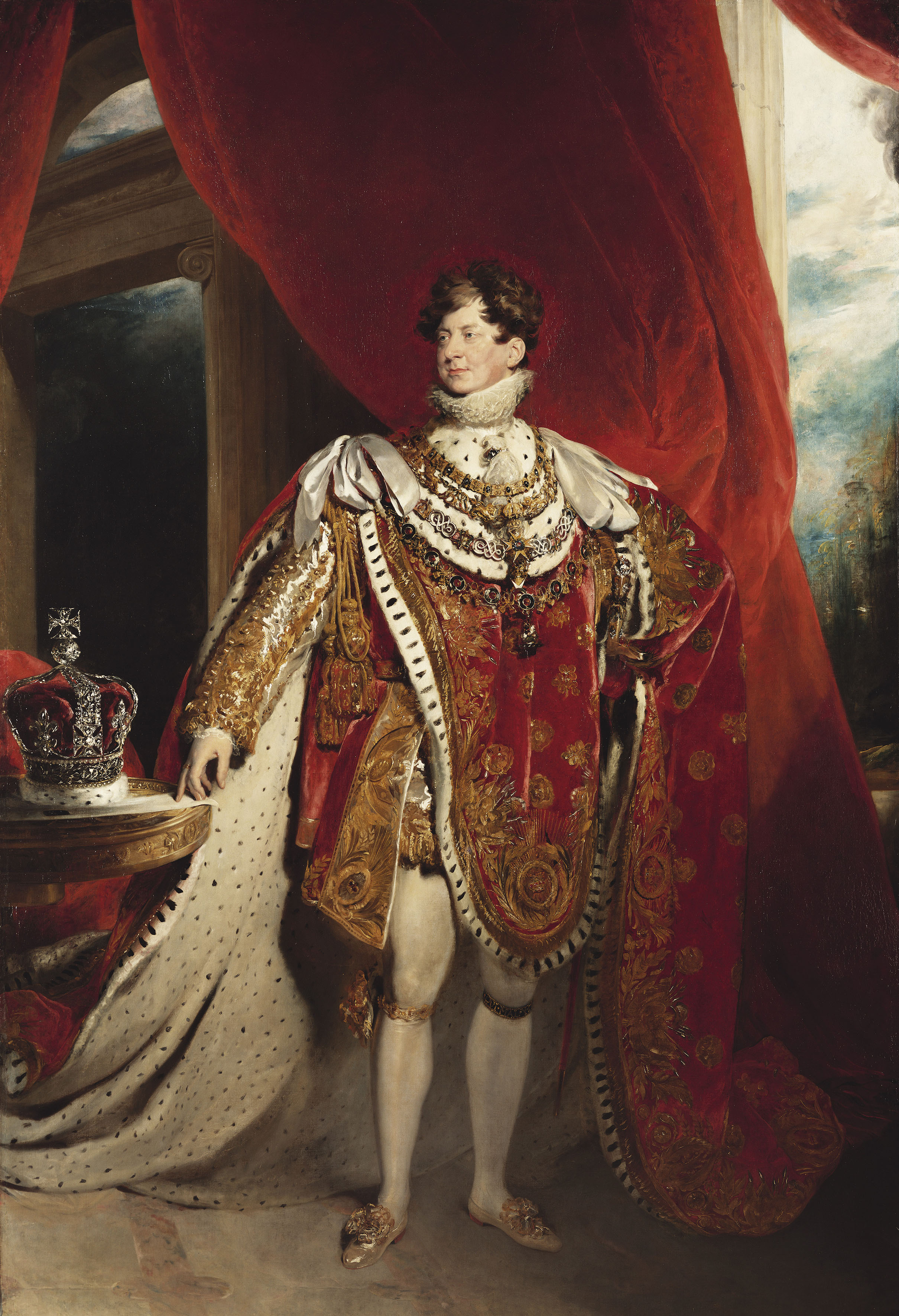 Sir Thomas Lawrence, George IV (1762-1830), 1821  Credit: Royal Collection Trust / (c) Her Majesty Queen Elizabeth II 2019