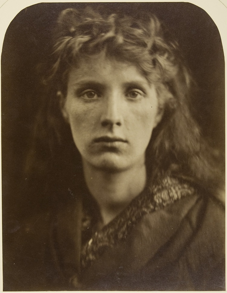 Mountain Nymph, Sweet Liberty by Julia Margaret Cameron, 1866
