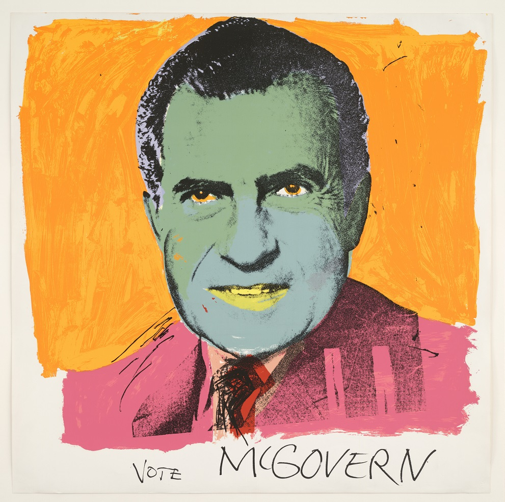 Vote McGovern, Warhol, British Museum