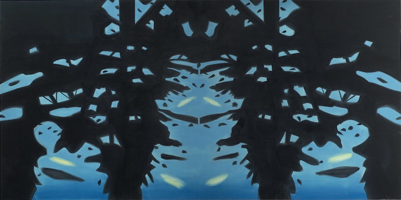 Alex Katz, Reflection 7, 2008