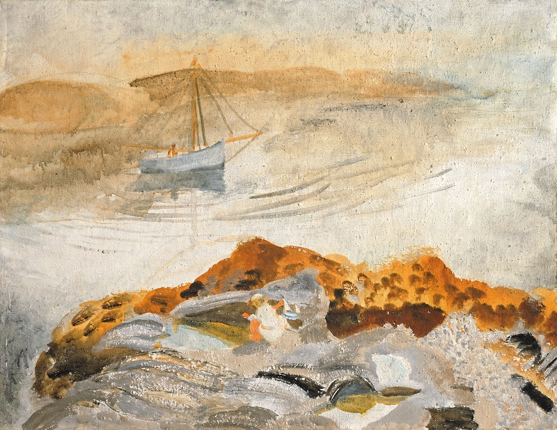 Winifred Nicholson, Seascape with Two Boats, 1926 Courtesy of Kettle's Yard, University of Cambridge ©Trustees of Winifred Nicholson