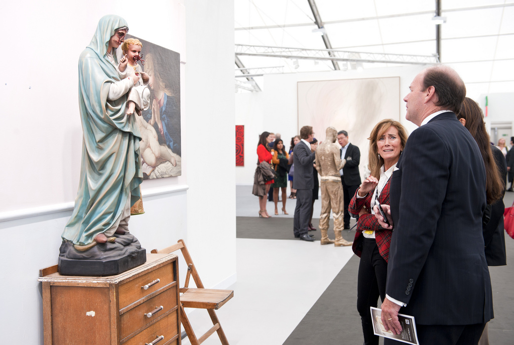 Chapman Brothers, White Cube, at Frieze Art Fair