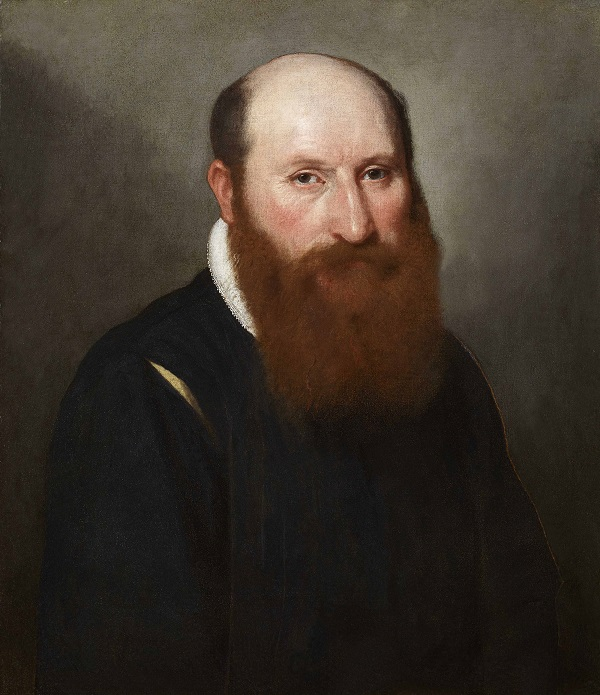 Giovanni Battista Moroni,  Portrait of a Man with a Red Beard, c. 1558-89  Oil on canvas, Private Collection  Photo: Private collection