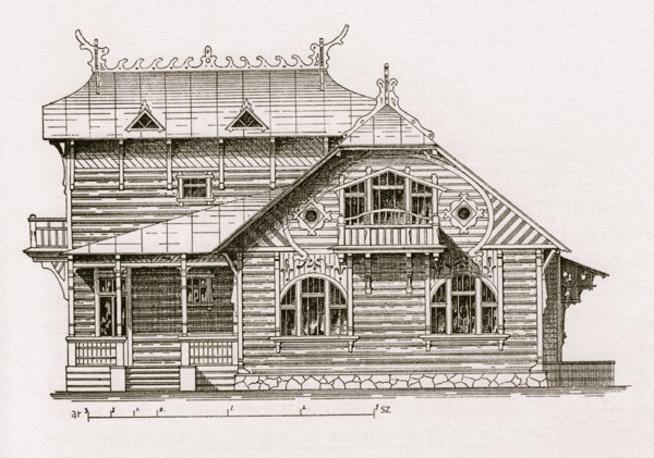 The Art Nouveau Dacha Russia S Wooden Weekend Houses