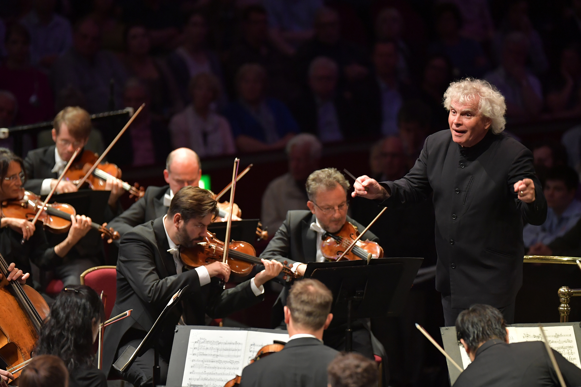 Berlin Phil and Rattle at the Proms