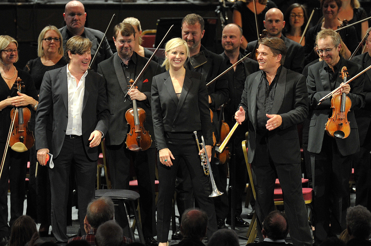 Barker, Balsom and Lockhart at the Proms