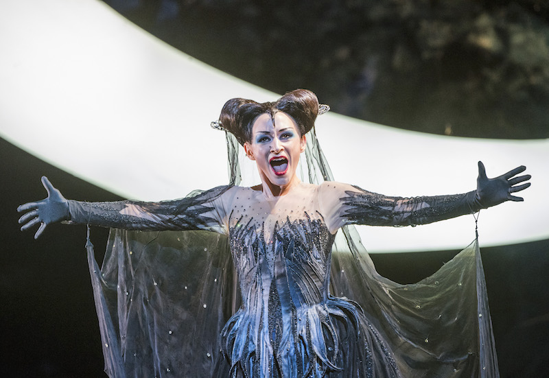 Sabine Devieilhe as the Queen of the Night (C) ROH. PHOTO TRISTRAM KENTON