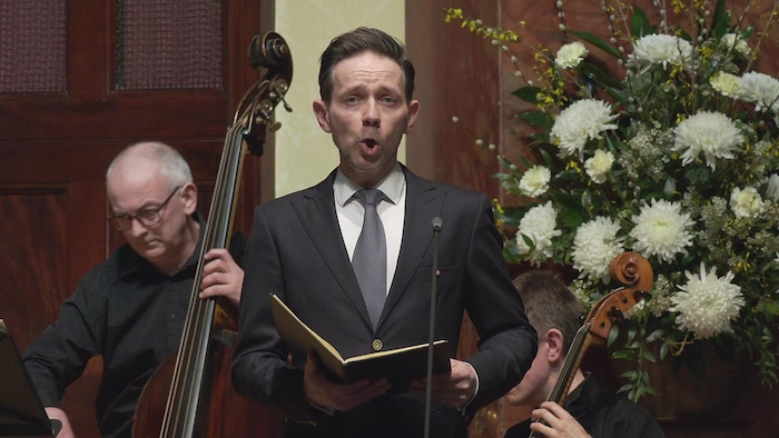 Countertenor Iestyn Davies with Arcangelo at the Wigmore Hall