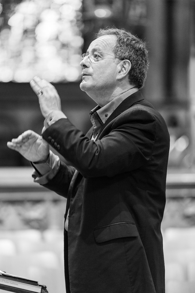Vasari Singers conductor Jeremy Backhouse