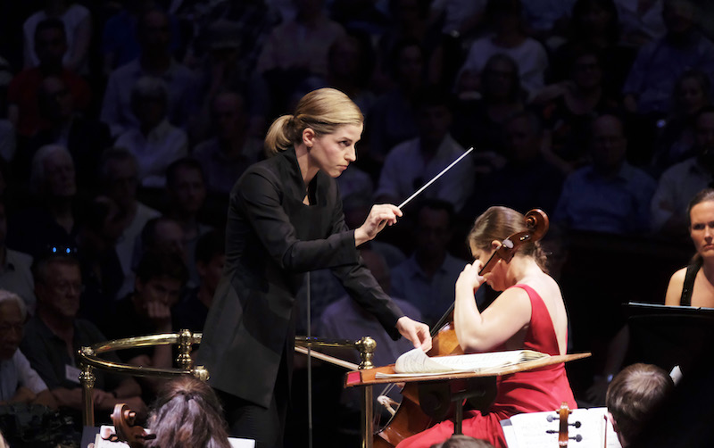 Karina Cannellakis conducts the BBC Symphony Orchestra in Shostakovich's Cello Concerto